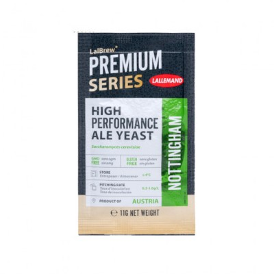 Lallemand Nottingham Haute Performance Dry Ale Yeast (11 g)