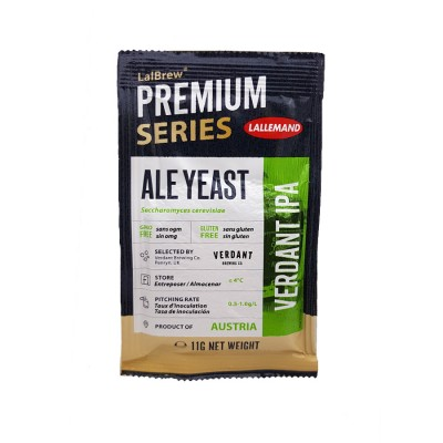 Lallemand Verdant IPA Dry Ale Yeast (11 g)